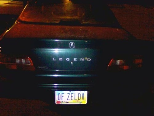 license plates legend of zelda cars - 8053073664