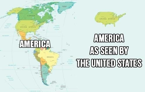 north america geography Maps
