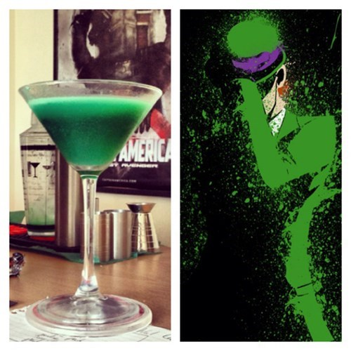 Riddler batman cocktail - 8053172992