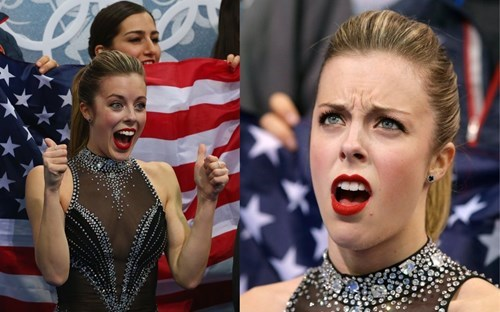 mckayla maroney,ashley wagner meme,Sochi 2014,ashley wagner,olympics