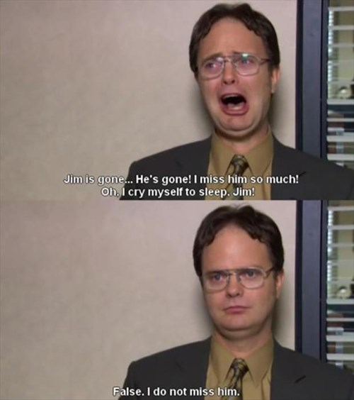 monday thru friday the office work coworkers dwight schrute