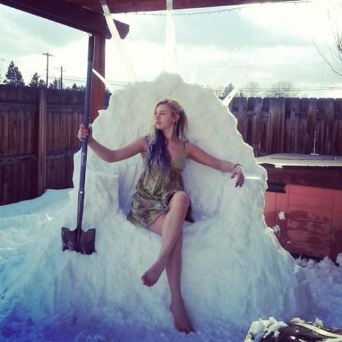 snow Game of Thrones winter Daenerys Targaryen - 8053533696