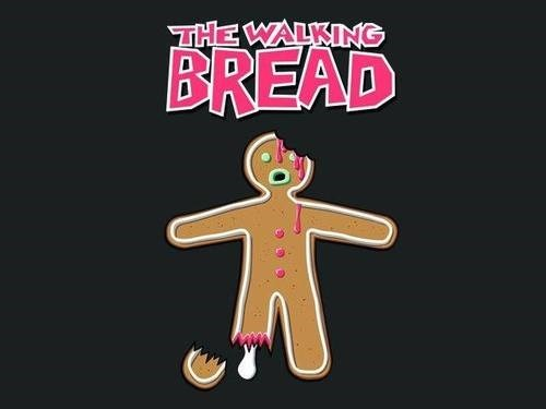 tshirts puns gingerbread hershel greene - 8053541120