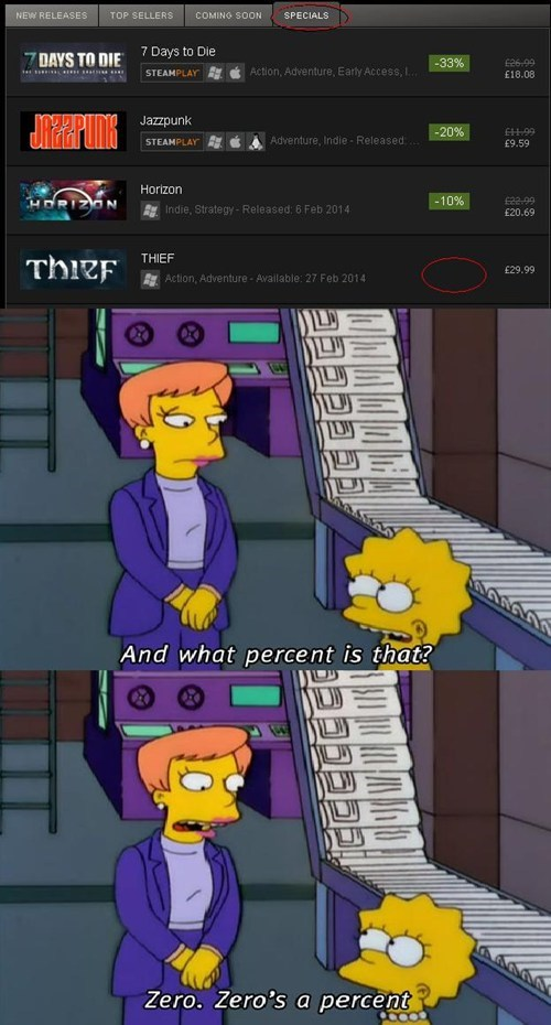 the simpsons,thief,sales