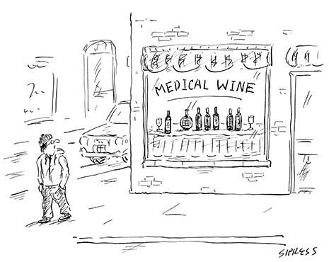 comics wine medical funny - 8053617664