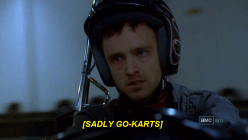 acting breaking bad go kart funny - 8053660416