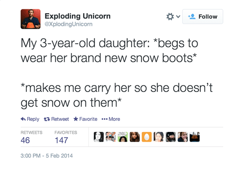 kids snow parenting twitter g rated - 8053686016