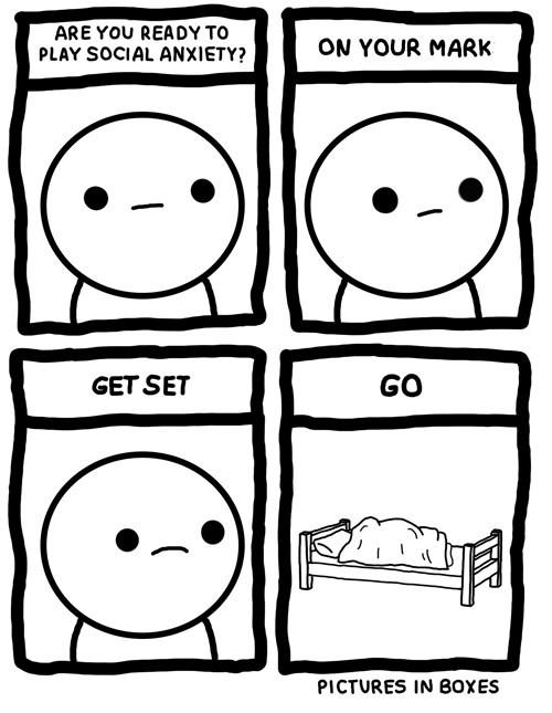 anxiety social anxiety web comics - 8053759744