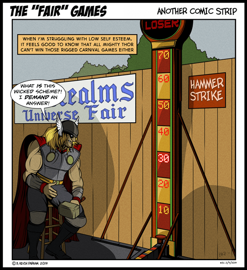 fair mjolnir Thor web comics - 8053766912