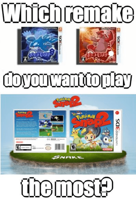 pokemon snap,gen III,hoenn confirmed