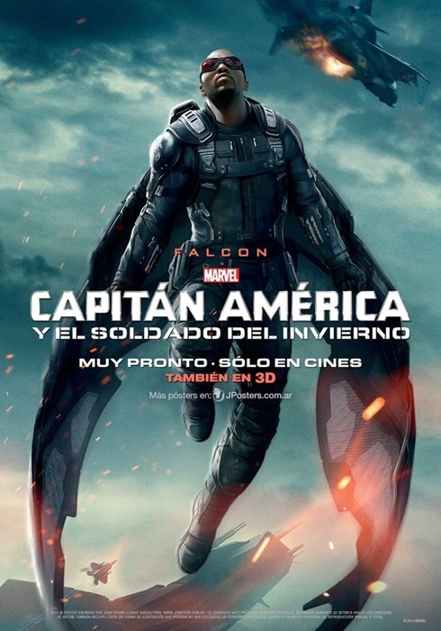 poster winter soldier captain america falcon - 8053813504