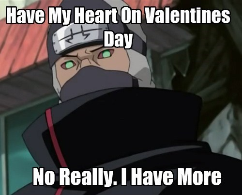 anime naruto Valentines day - 8053816832