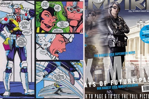 days of future past quicksilver xmen off the page - 8053862400