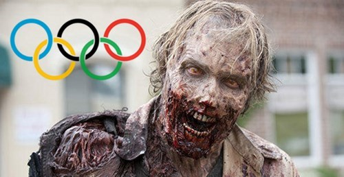 olympics ratings The Walking Dead - 8053903872