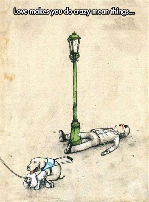 dogs cartoons love - 8053962496