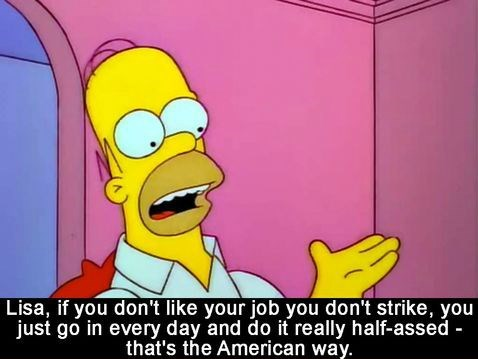 homer simpson,work,the simpsons