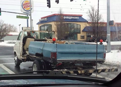 Vehicle - BURGE KING Washingtan St NG BURGER-KING