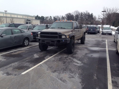 cars douchebag parkers parking - 8054141184