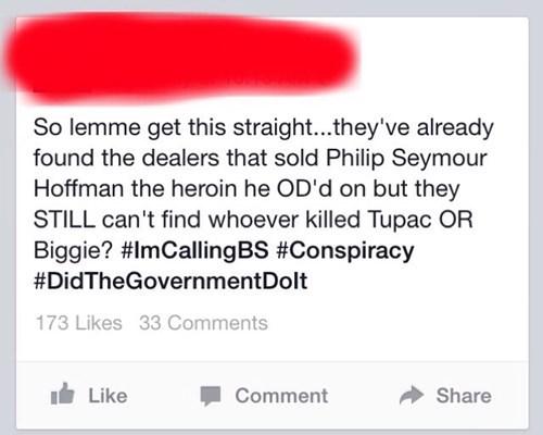 conspiracy philip seymour hoffman tupac