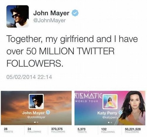 celeb,katy perry,john mayer,twitter