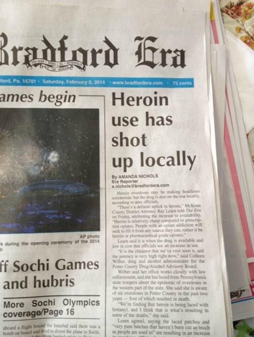 drugs,newspaper headlines