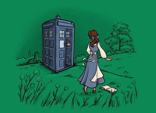 Beauty and the Beast disney tshirts doctor who - 8055681024
