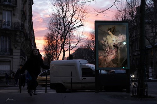 paris,Street Art,art,hacked irl,classical