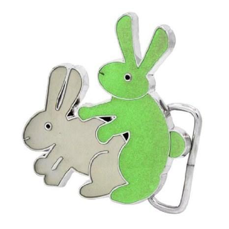 belt buckle poorly dressed bunny - 8055811328
