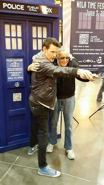 convention Matt Smith stan lee - 8055827456