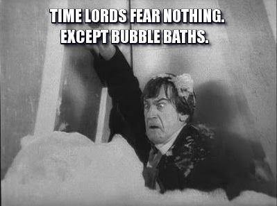 classic who patrick troughton bubble bath - 8055878656