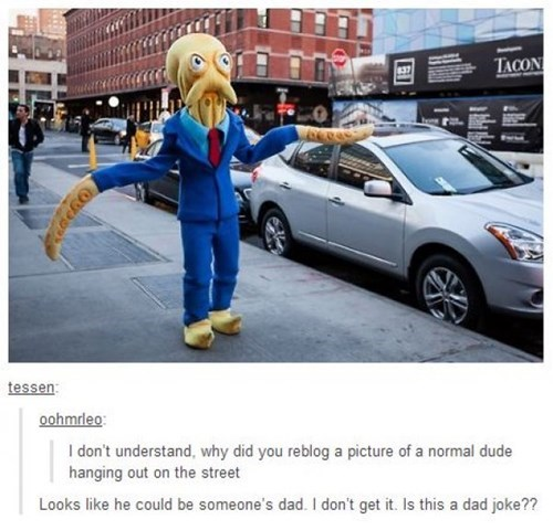 cosplay octodad tumblr IRL - 8055918336