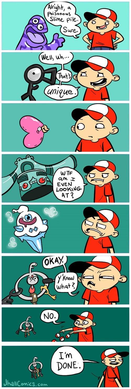 Sad klefki Pokémon web comics