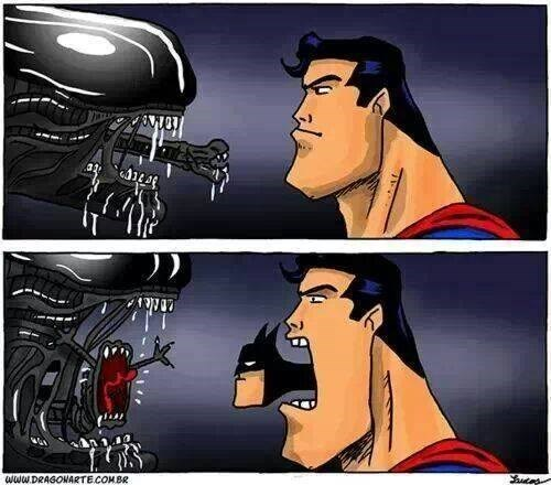 Aliens batman superman web comics - 8056054016