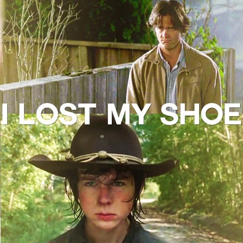 carl grimes,Supernatural,Jared Padalecki