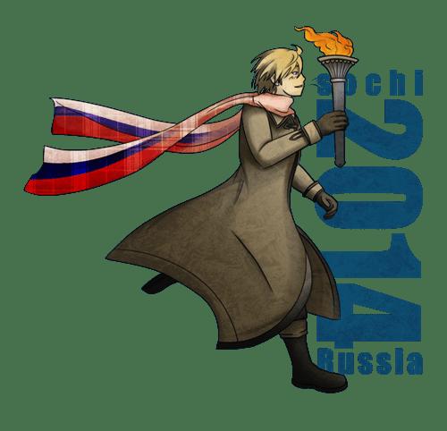 Sochi 2014 anime hetalia - 8056257536