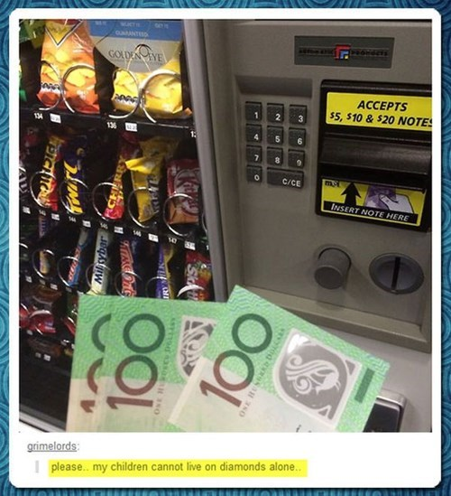 tumblr First World Problems vending machine - 8056295424