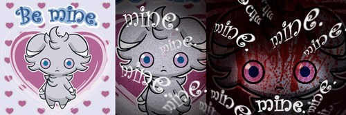 be mine Staring espurr Valentines day - 8057129728