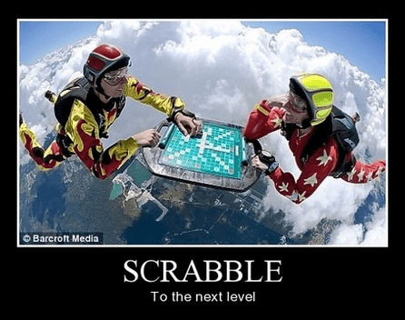 skydiving,extreme,scrabble,funny