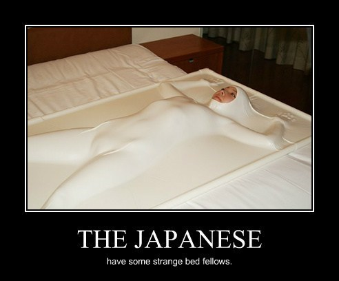 wtf bed ghost Japan funny - 8057983488