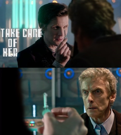 tardis,12th Doctor,11th Doctor