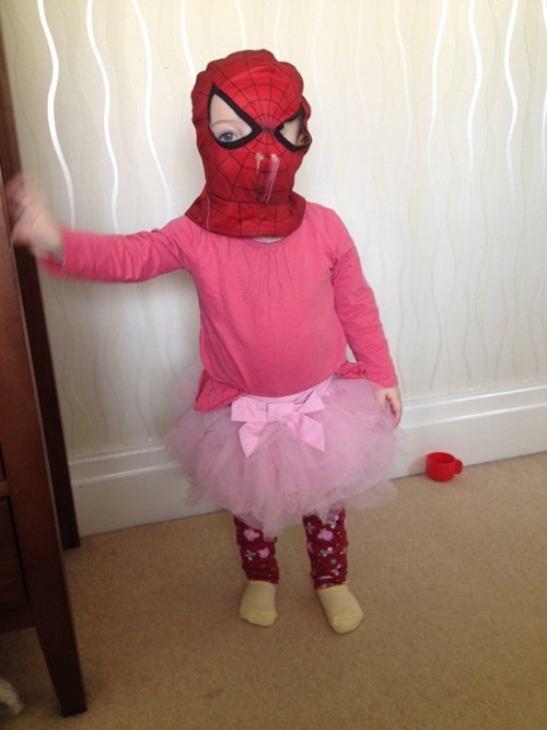 tutu Spider-Man kids parenting g rated