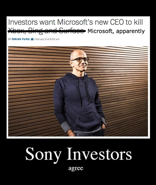 argument microsoft news Sony