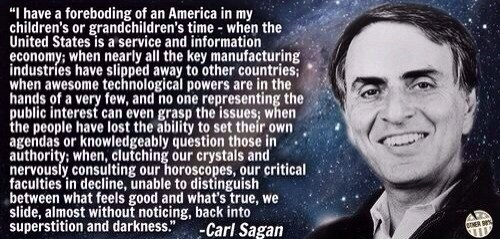 carl sagan science quote - 8058086400