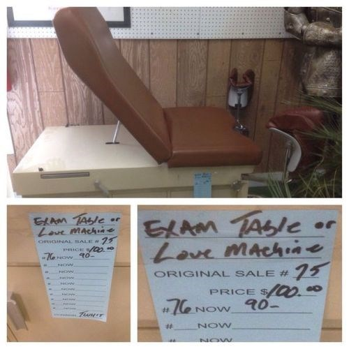 exam table,wtf,love machine,creepy