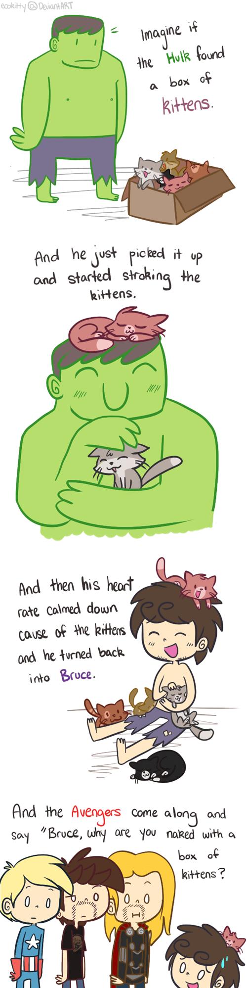 kitten hulk avengers - 8058221568