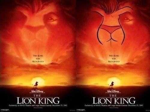 disney dat ass lion king - 8058276352