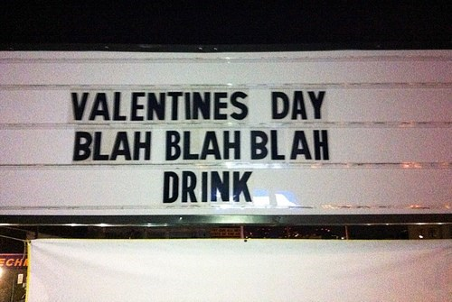 drinking alcohol Valentines day - 8058438912