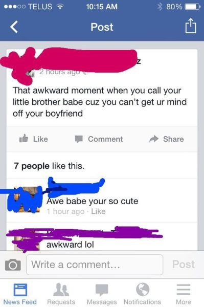 boyfriend,facebook,oh god why