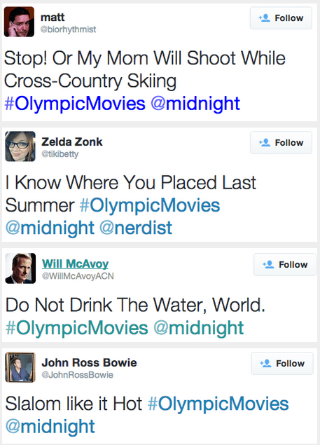 twitter,Sochi 2014,puns,olympics