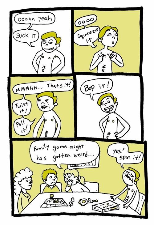 bop it families weird web comics - 8058771456